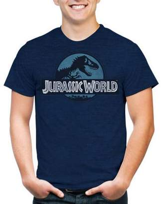 Movies & TV Jurassic World Men's Logo Short Sleeve T-Shirt