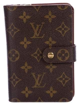Louis Vuitton Monogram Porte-Papier Zippé Wallet
