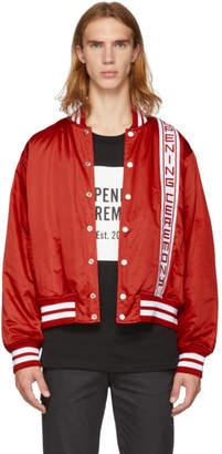 Opening Ceremony Red Logo Stadium Jacket