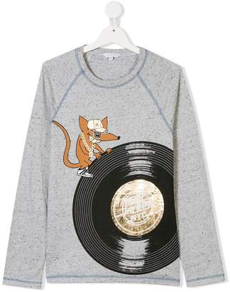 Little Marc Jacobs TEEN graphic printed top