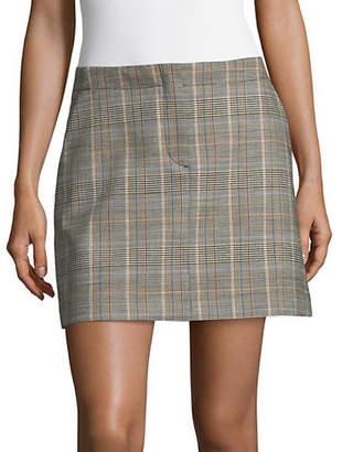 Theory Seamed Mini Skirt