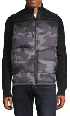 Standard Issue NYC Camouflage Puffer Vest