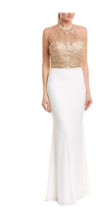 Issue New York Ivory/gold Gown