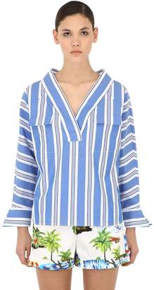 Stella Jean Striped Cotton Shirt