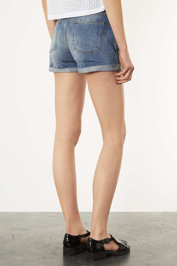 Betty Boop MOTO Betty BoopTM Denim Shorts