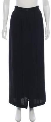 Ann Demeulemeester A-Line Maxi Skirt