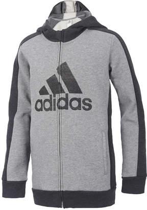 adidas Athletic Full-Zip Hoodie, Toddler Boys
