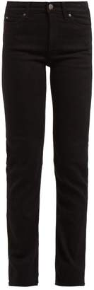 MiH Jeans Daily High Rise Straight Leg Jeans - Womens - Black