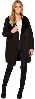 BB Dakota Kelden Faux Suede Shearling Coat Women's Coat