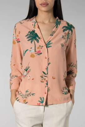 Des Petits Hauts Palladio Emati Shirt - SMALL - Pink