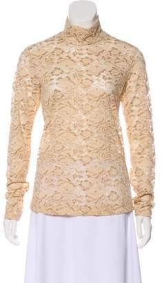 Celine Lace Long Sleeve Top