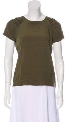 Etro Short Sleeve Chiffon Top
