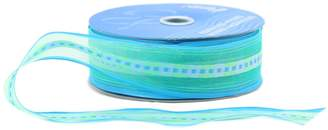 Berwick Offray Wired Edge Chamblee Sheer Craft Ribbon, 1-1/2-Inch Wide by 50-Yard Spool