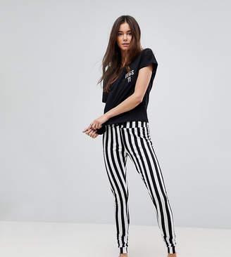 Asos Tall TALL Legs 11 Tee and Legging Pajama Set