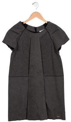 Little Marc Jacobs Girls' Short Sleeve A-Line Dress