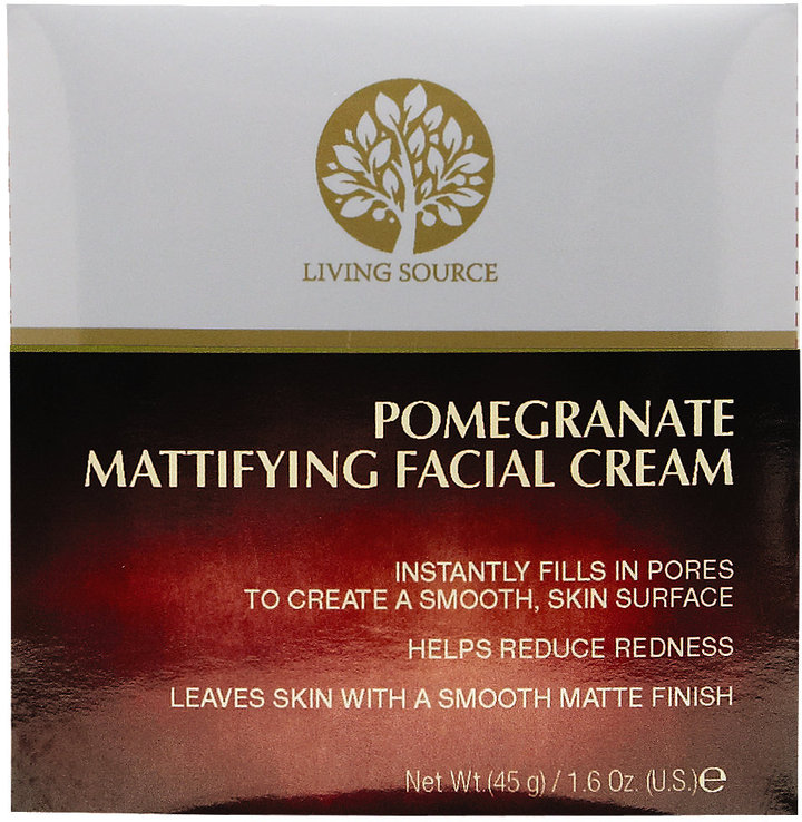 Living Source Pomegranate Mattifying Facial Cream