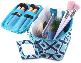 Zodaca Compact Small Cosmetic Bag