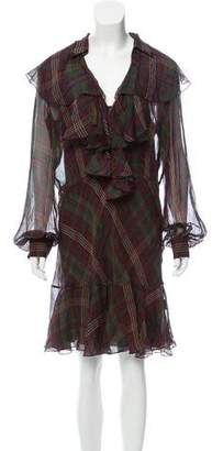 Ralph Lauren Silk Knee-Length Dress w/ Tags