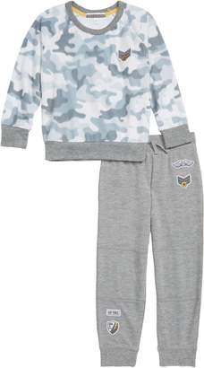PJ Salvage Camo Cool Two-Piece Pajamas
