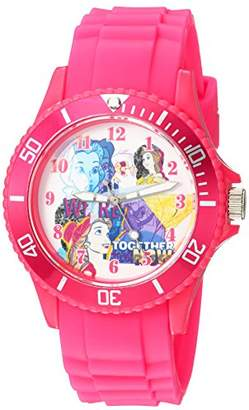 Disney Women's 'Princess Belle' Quartz Plastic Casual Watch