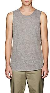 Chapter MEN'S HEATHERED COTTON-BLEND TANK-GRAY SIZE L