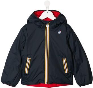 K Way Kids reversible padded jacket