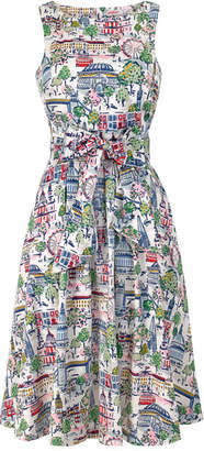 Cath Kidston London View Tie Waist Dress