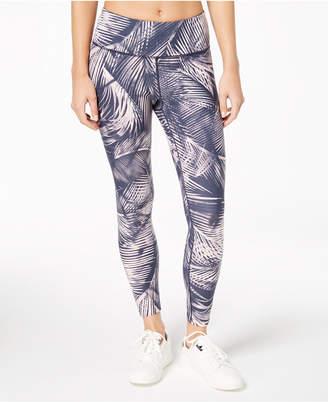 Calvin Klein Mustique Printed High-Rise Logo Leggings