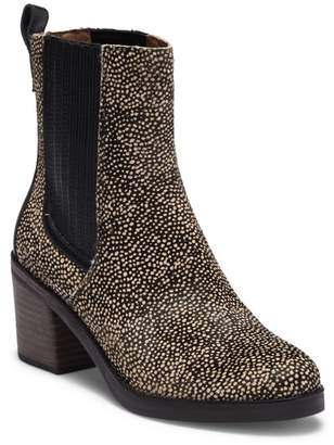 UGG Camden Exotic Genuine Calf Hair Block Heel Boot