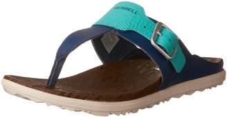 Merrell Women's AROUND TOWN POST PRINT Sport Sandals