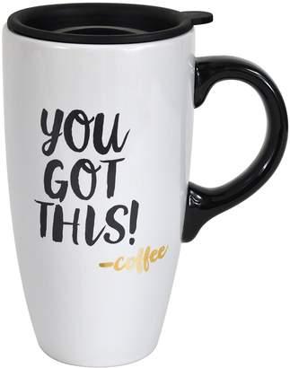 Enchante You Got This Coffee Lidded Travel Mug