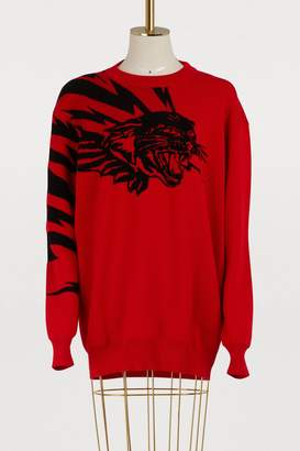Givenchy Panther oversized pullover