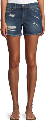 Joe's Jeans Mid-Rise Cutoff Denim Shorts