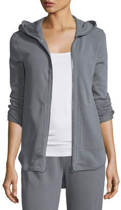 ATM Anthony Thomas Melillo Zip-Front French Terry Hoodie