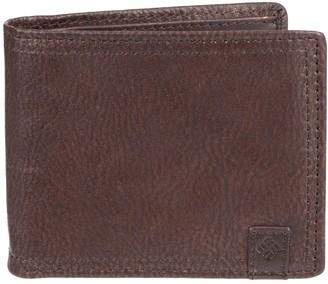 Columbia Men's Genuine Leather Traveler Extra-Capacity Wallet