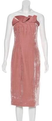 Cinq à Sept Mini Velvet Dress w/ Tags