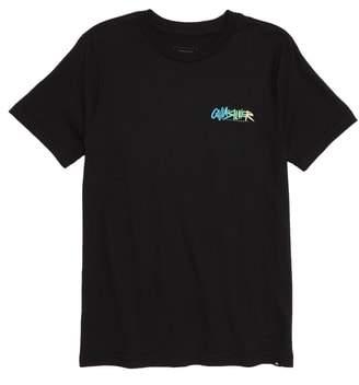 Quiksilver Rough Script Graphic T-Shirt