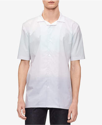 Calvin Klein Men's Ombre Striped Shirt