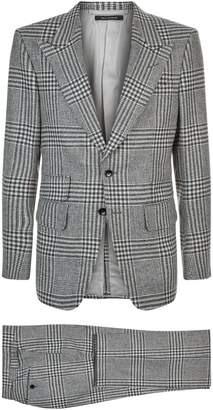 Tom Ford Check Shelton Suit