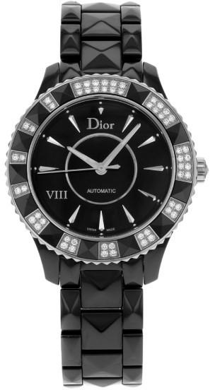 Christian Dior Christian Dior VIII CD1245E1C001 Ceramic & Diamonds Automatic Ladies Watch