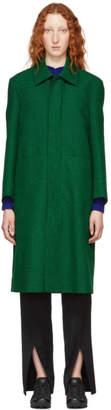 Namacheko Green Long Line Coat