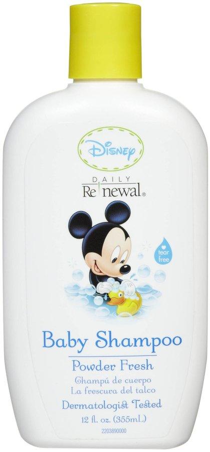 Green Baby New Windsor Disney Baby Daily Renewal Baby Shampoo - Powder Fresh - 12 oz