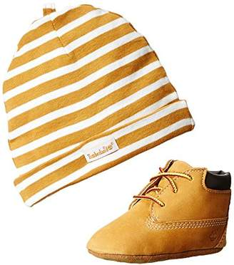 Timberland Crib With Hat Bootie (Infant/Toddler)