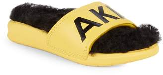 Akid Little Boy's & Boy's Despicable Me 3 Aston Faux Fur-Lined Slides