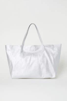 H&M Shopper - Silver
