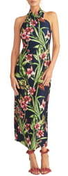 Rachel Roy Harlan Print Jersey Maxi Dress