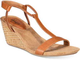 Style & Co Mulan Wedge Sandals, Only at Macy's Women's Shoes $34.98 thestylecure.com
