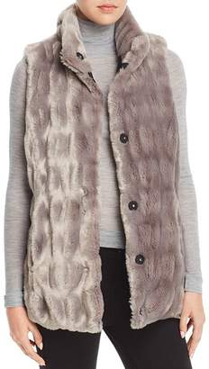 Via Spiga Reversible Faux Fur Vest