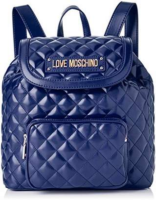 a9a2da6d627 Love Moschino Women's Quilted Nappa Pu Backpack Handbag