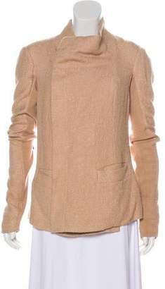 Rick Owens Button-Up Knit Jacket